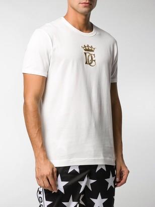 Dolce & Gabbana logo crown T-shirt
