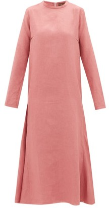 ALBUS LUMEN Tula Linen Dress - Pink