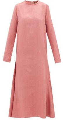 ALBUS LUMEN Tula Linen Dress - Womens - Pink
