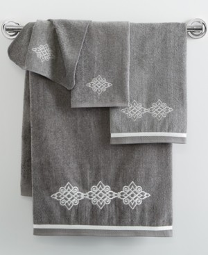 Avanti Riverview Embroidered Hand Towel Bedding