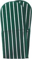 Dexam Classic Butcher's Stripe 100 Percent Cotton Double Oven Glove, Racing Green