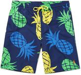 Polo Ralph Lauren Long-Length Printed Swim Shorts