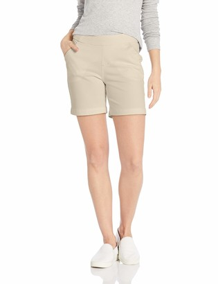 "Jag Jeans Women's Petite Gracie Pull on 7"" Short"