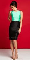 Mac Duggal Color Pop Knee Length Dress