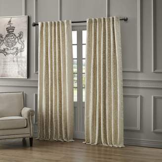"""Waterford Lawrence Back Tab/Rod Pocket Curtain Panel, 54"""" x 84"""""""