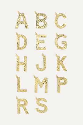 Jennifer Meyer Letter 18-karat Gold Necklace - A