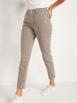 Old Navy High-Waisted O.G. Straight Mineral-Dye Jeans for Women