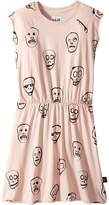 Nununu Skull Mask Dress Girl's Dress