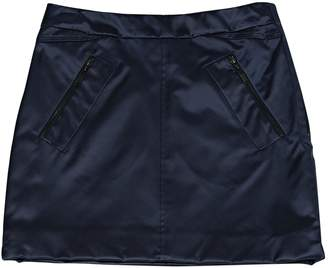 Louis Vuitton Navy Silk Skirt for Women