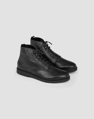 Hudson Battle Boots Black