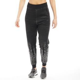 adidas Womens Z.N.E. Pulse Knit Pants Black/Off White