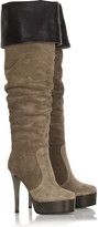 Giuseppe Zanotti Suede platform boots