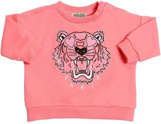 Kenzo Kids Tiger Embroidered Sweatshirt