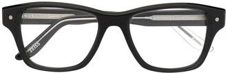 S'nob Peck clip-on lens glasses