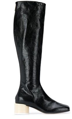 MM6 MAISON MARGIELA Knee-Length Block Heel Boots