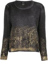 Avant Toi colour-block sweatshirt