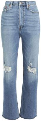 RE/DONE Ultra High-Rise Stove Pipe Jeans