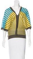 M Missoni Striped Sleeveless Top