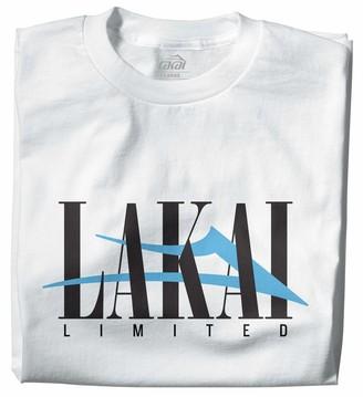 Lakai Unisex-Adult's Interlaced TEE WhiteSize M