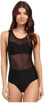 RVCA Imaginary Mesh Medium One-Piece Swimsuit