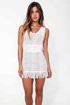 Goddis Zane Cover Up Dress In Bashful