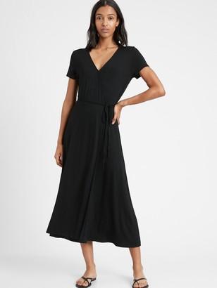Banana Republic Knit Wrap Dress