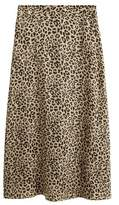 Mango MANGO Leopard skirt