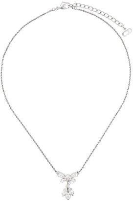 Christian Dior X Susan Caplan 1990's archive embellished pendant necklace
