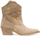 Thumbnail for your product : Pedro Garcia Ankle-Length Suede Cowboy Boots