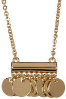 Trina Turk Disc Pendant Necklace
