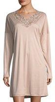 Zimmerli Pure Opulence Lace-Trim Sleepshirt