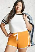 Forever 21 Plus Size Contrast Shorts