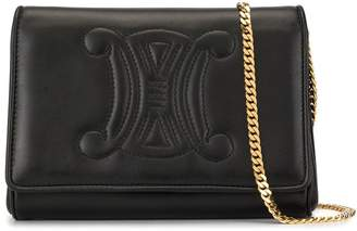 Celine Pre-Owned stitched logo 2way bag