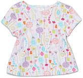 Zutano White Giardini Swing Tee - Infant