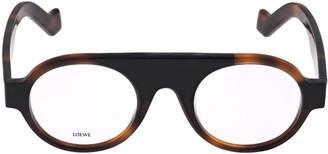 Loewe Rounded Aviator Optical Glasses