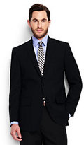 Classic Men's Traditional Fit Wool Year'rounder Suit Jacket-Dark Camel Heather