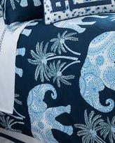 Jane Wilner Designs Queen Ellie Elephant-Print Duvet Cover