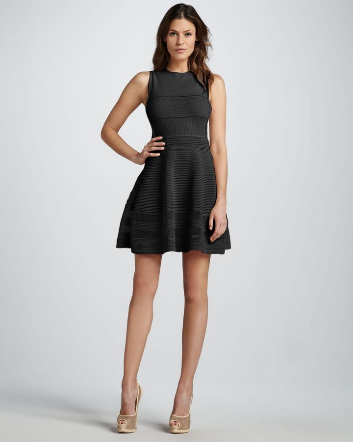 M Missoni Flouncy Knit Dress