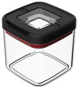 T-Fal 4-Cup Food Storage Container in Black/Clear