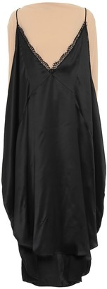 MM6 MAISON MARGIELA Layered satin midi dress