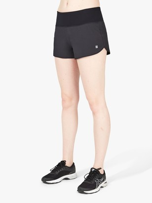 Sweaty Betty Time Trial Running Shorts, Black