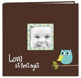 Pioneer Baby Owl Design Post Bound Scrapbook Album