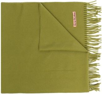 Acne Studios Canada fringed scarf
