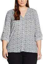 Via Appia Women's Regular Fit Blouse - Multicoloured - UK