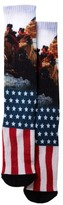 Public Opinion Freedom Flag Print Socks