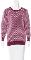 Jonathan Saunders Long Sleeve Crew Neck Sweater