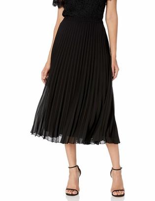 Anne Klein Women's Pleated Maxi Skirt