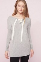 Garage Reversible Tunic With Lace-Up Back