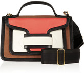 Pierre Hardy Color-block leather shoulder bag