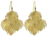 Annette Ferdinandsen Small Peacock Cluster Earrings - Yellow Gold
